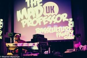 Mad Professor @Bassculture Rond Volle Maan