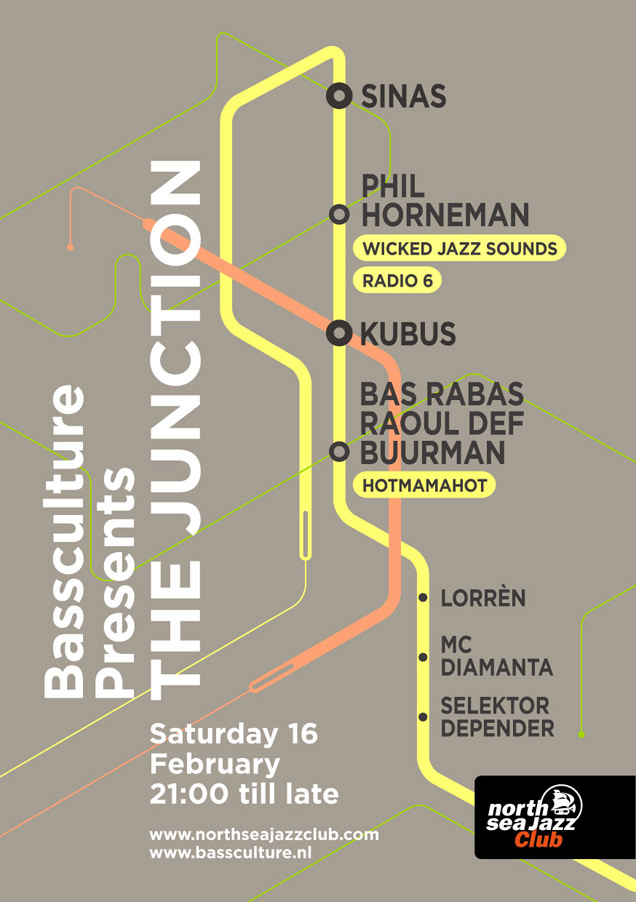 Bassculture The Junction ft Sinas & Zanillya LIVE Phil Horneman Kubus Hotmamahot & more