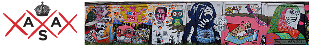 ASA AMsterdam Street Art at teh Bass Stage Amsterdam Roots Festival & Bassculture Foundation