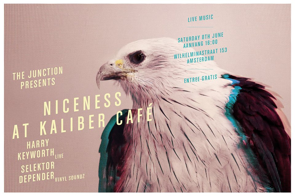 The Junction presents Niceness at Cafe Kaliber ft. Harry Keyworth live