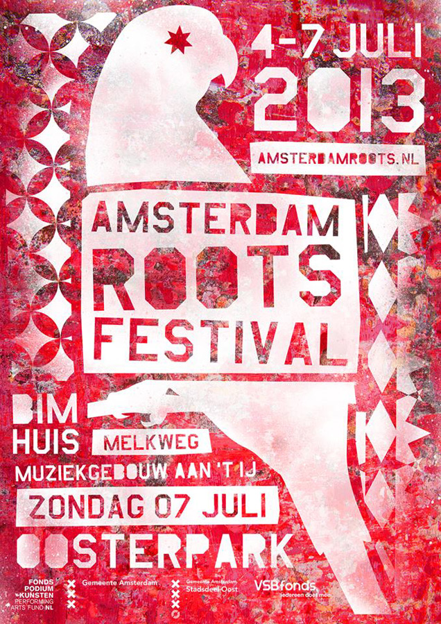 Flyer amsterdam roots 2013
