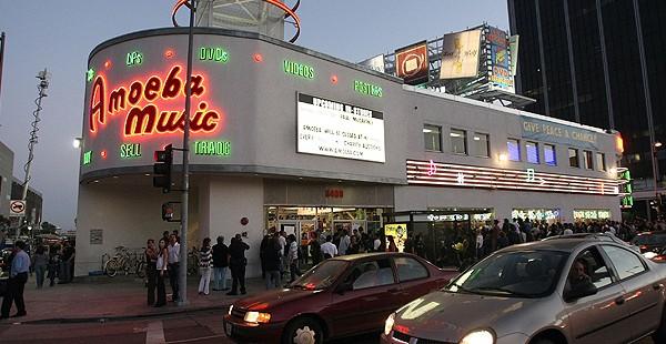 Amoeba Music in Los Angeles, California