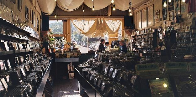 Aquarius Records in San Francisco, California