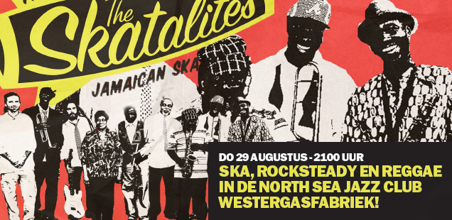 The Skatalites live in North Sea Jazz Club Amsterdam