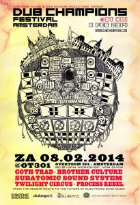 True Soldiers Production Subatomic Soundsystem Dub Champions Festival Amsterdam bassculture