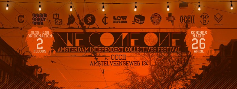 26 April 2015 We Come One    OCCII **Kingsnight edition**
