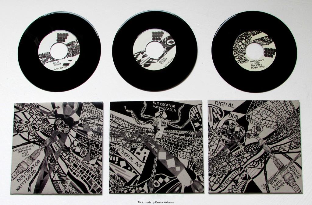 Bassculture Presents: 'Vazka Dub' 7 inch vinyl Trilogy